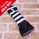 <iliac Golf> Polo Stripe 3wood 3W用 (Black/White)