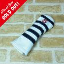 <iliac Golf> Polo Stripe 5wood 5W用 (WH/NV/RD)