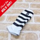 <iliac Golf> Polo Stripe 5wood 5W用 (White/Black)