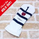 <iliac Golf> Polo2 ドライバー用 (White/Navy/Navy No.)