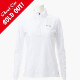 <BRIEFING> ブリーフィング WOMENS LEOPARD EMBOSSED HZ SHIRTS (White) 3273 12